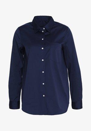 LANGARM - Košile - dunkelblau