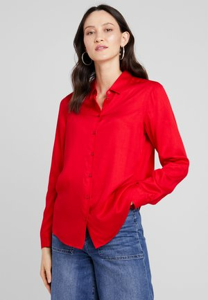Overhemdblouse - haute red
