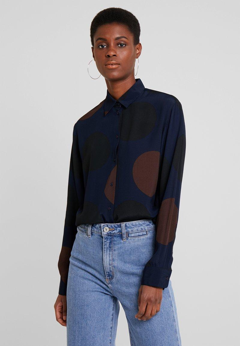 Seidensticker - FASHION LANG - Skjortebluser - blau