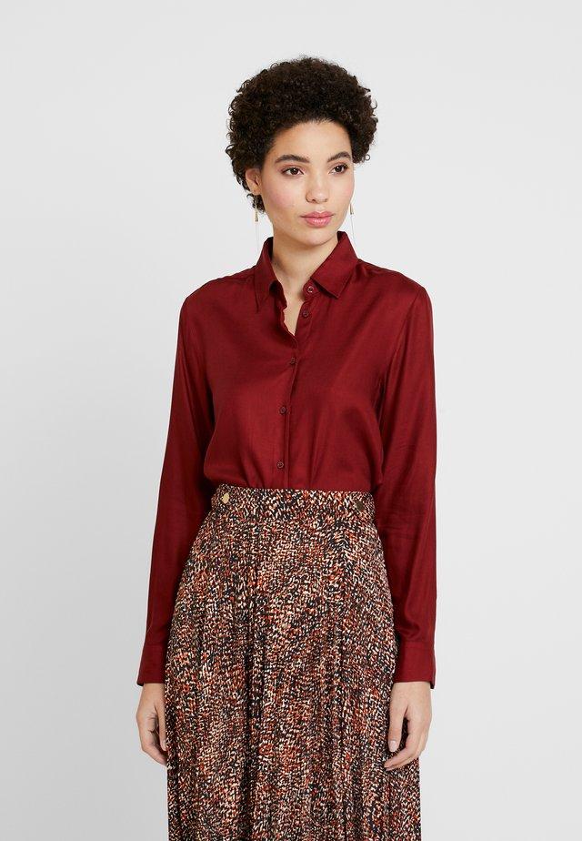FASHION - Button-down blouse - melot