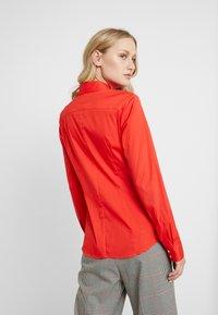 Seidensticker - LANGARM - Overhemdblouse - rot - 2