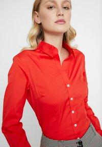Seidensticker - LANGARM - Overhemdblouse - rot - 4