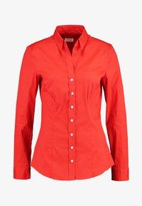 Seidensticker - LANGARM - Overhemdblouse - rot - 3