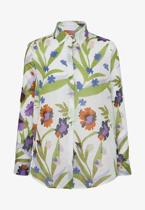 WASHER FASHION - Button-down blouse - almond oil