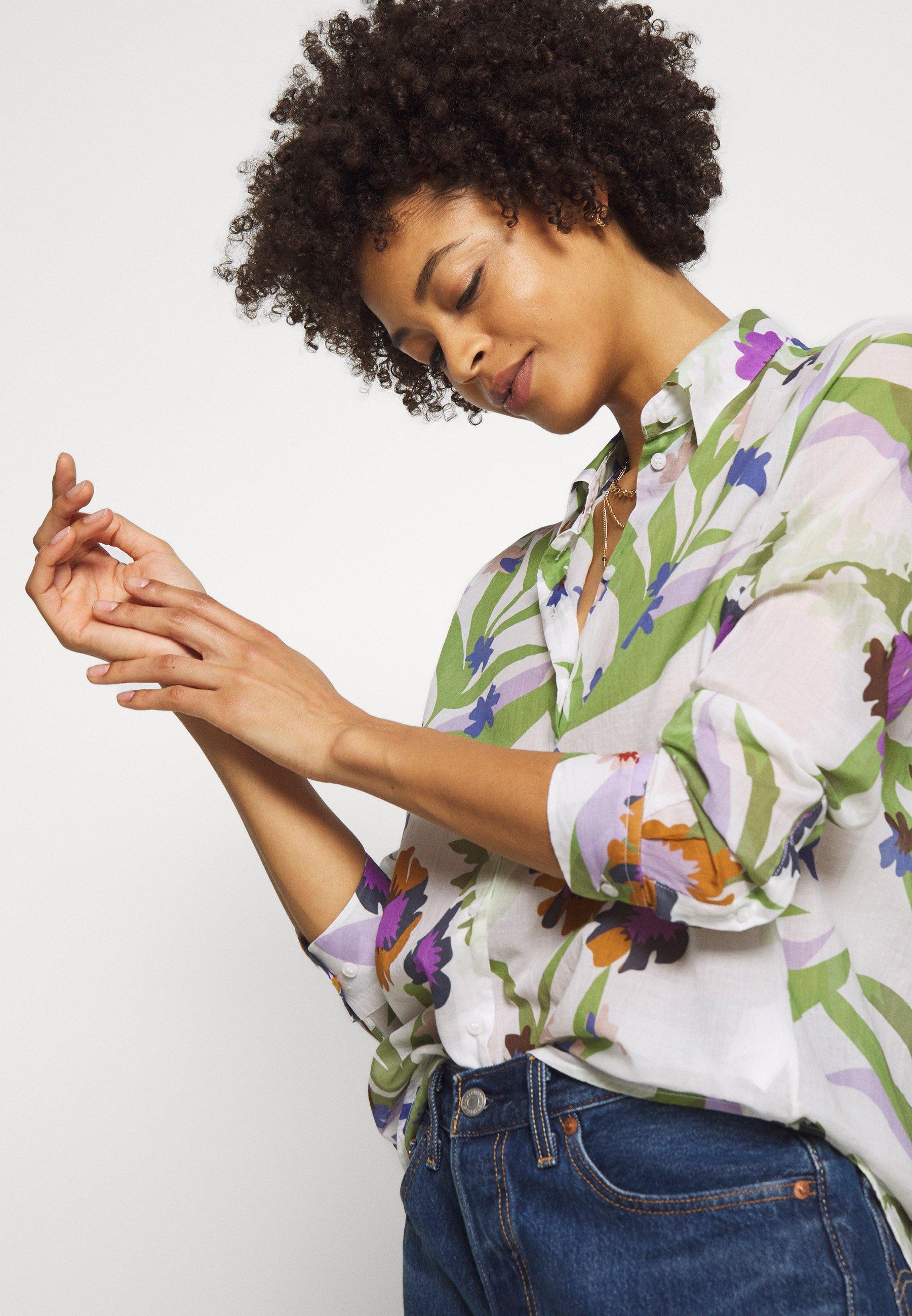 Seidensticker WASHER FASHION - Button-down blouse - almond oil