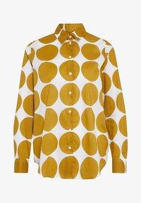 Seidensticker - REGULAR FIT - Button-down blouse - golden palm - 4
