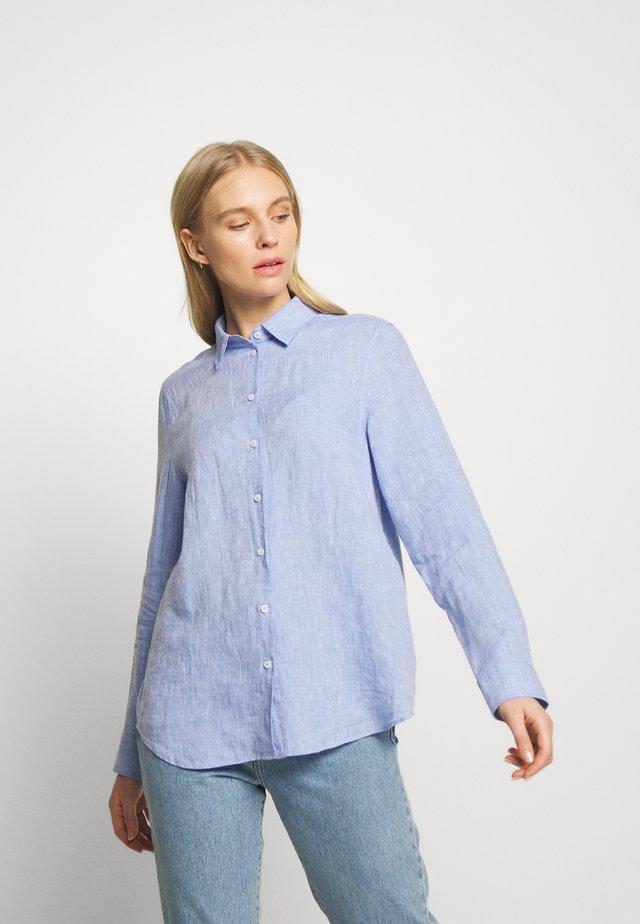 WASHER FASHION - Button-down blouse - blau
