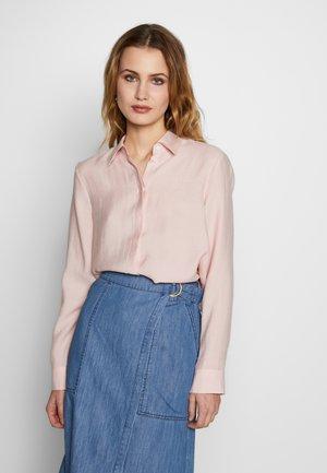 FASHION - Button-down blouse - sepia rose