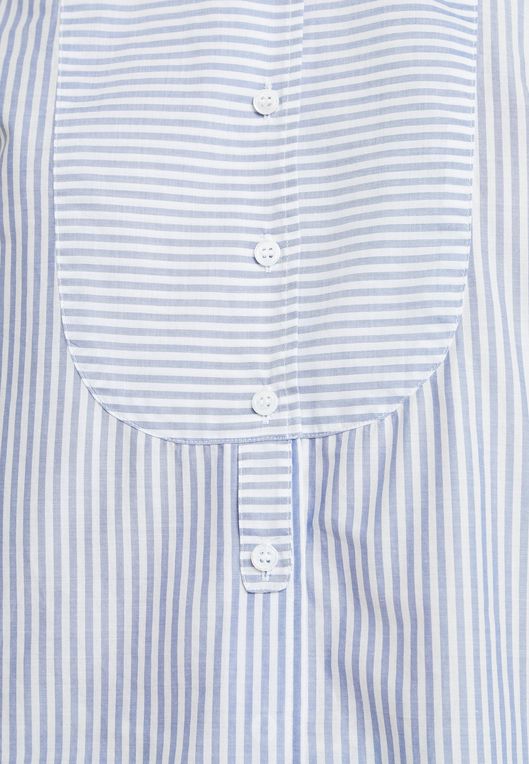 Seidensticker Langarm - Button-down Blouse Blau