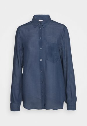 LANGARM - Camicia - navy blazer