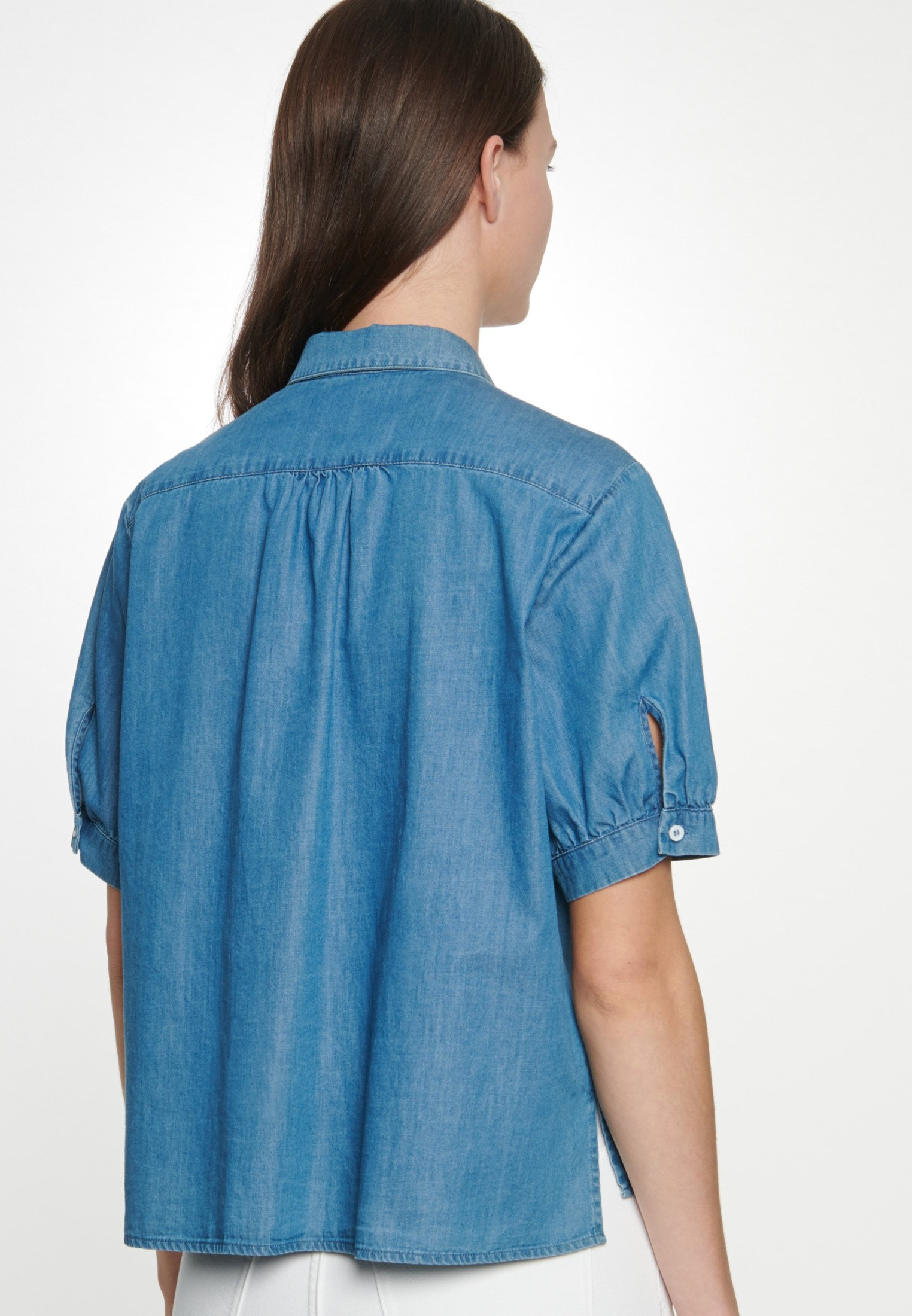 Seidensticker Overhemdblouse - Blue