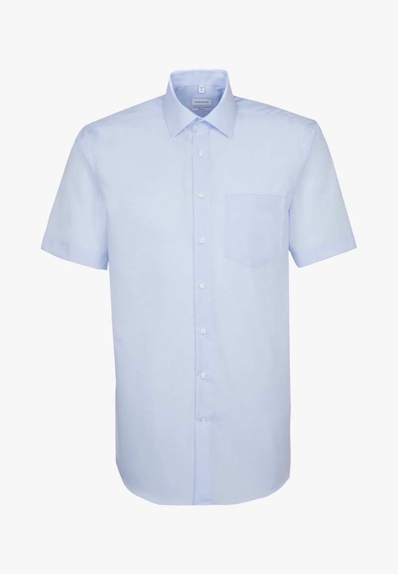 Seidensticker - REGULAR FIT - Overhemd - light blue
