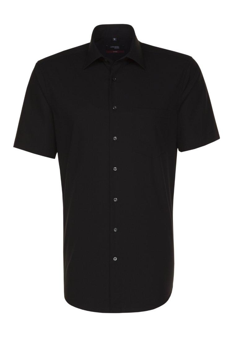 Seidensticker REGULAR FIT - Koszula - black