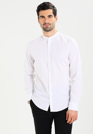 MANDARIN TAPE SLIM FIT - Košile - weiß
