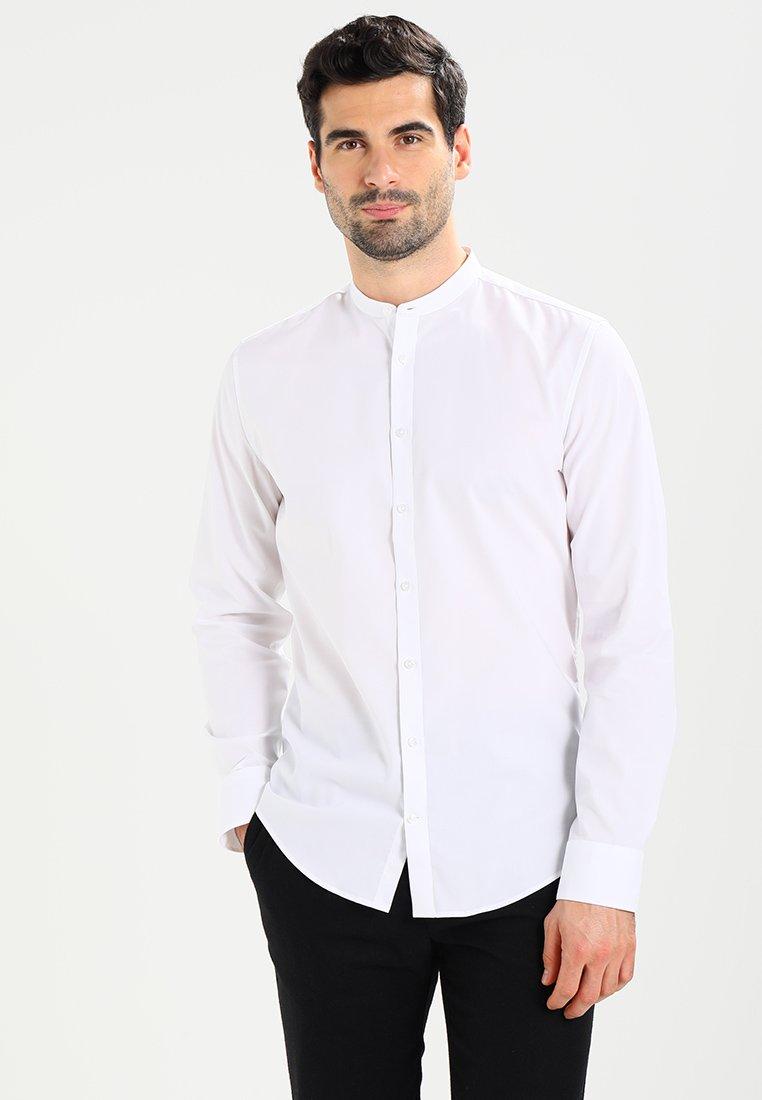 Seidensticker - MANDARIN TAPE SLIM FIT - Shirt - weiß
