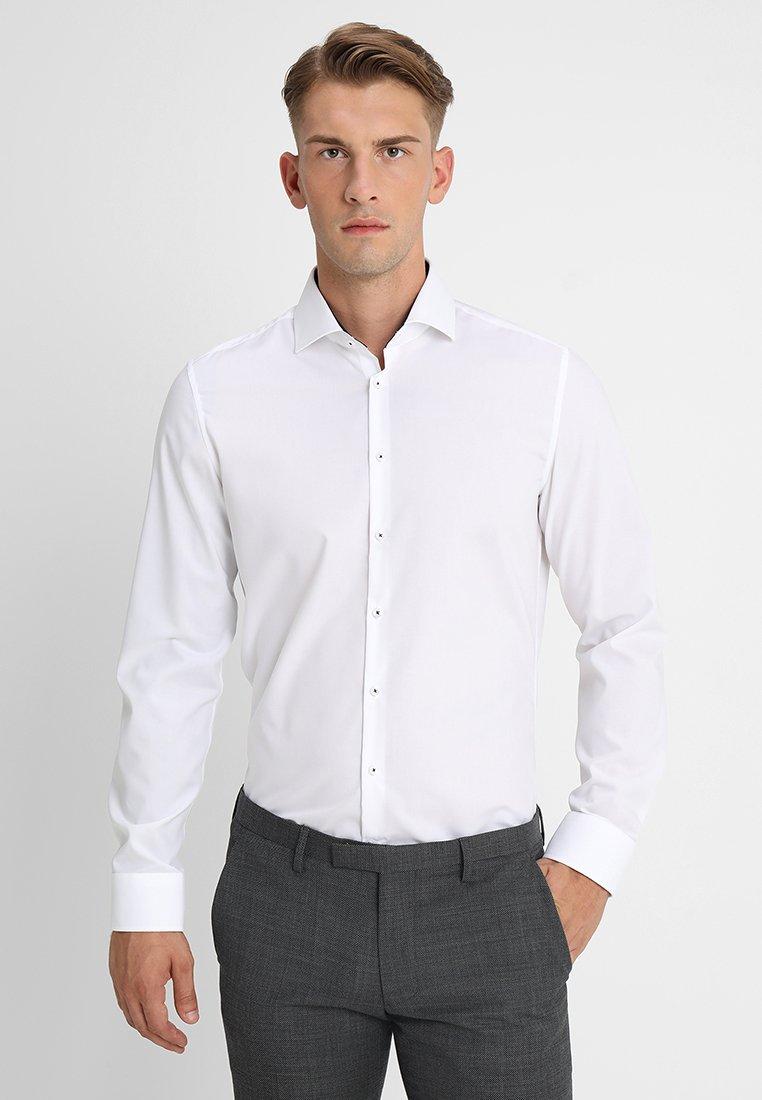 Seidensticker - SLIM FIT - Camisa - white