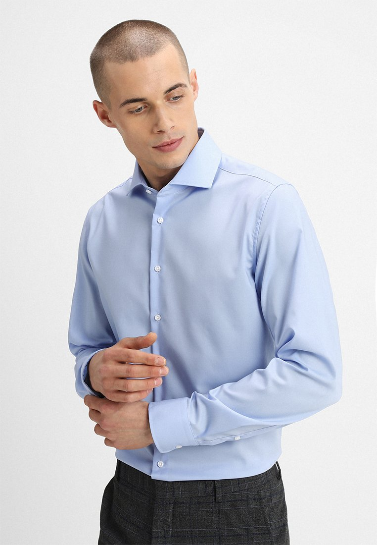 Seidensticker - SPREAD PATCH SLIM FIT - Businesshemd - light blue