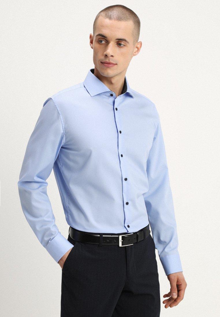 Seidensticker - SLIM FIT PATCH - Zakelijk overhemd - hellblau