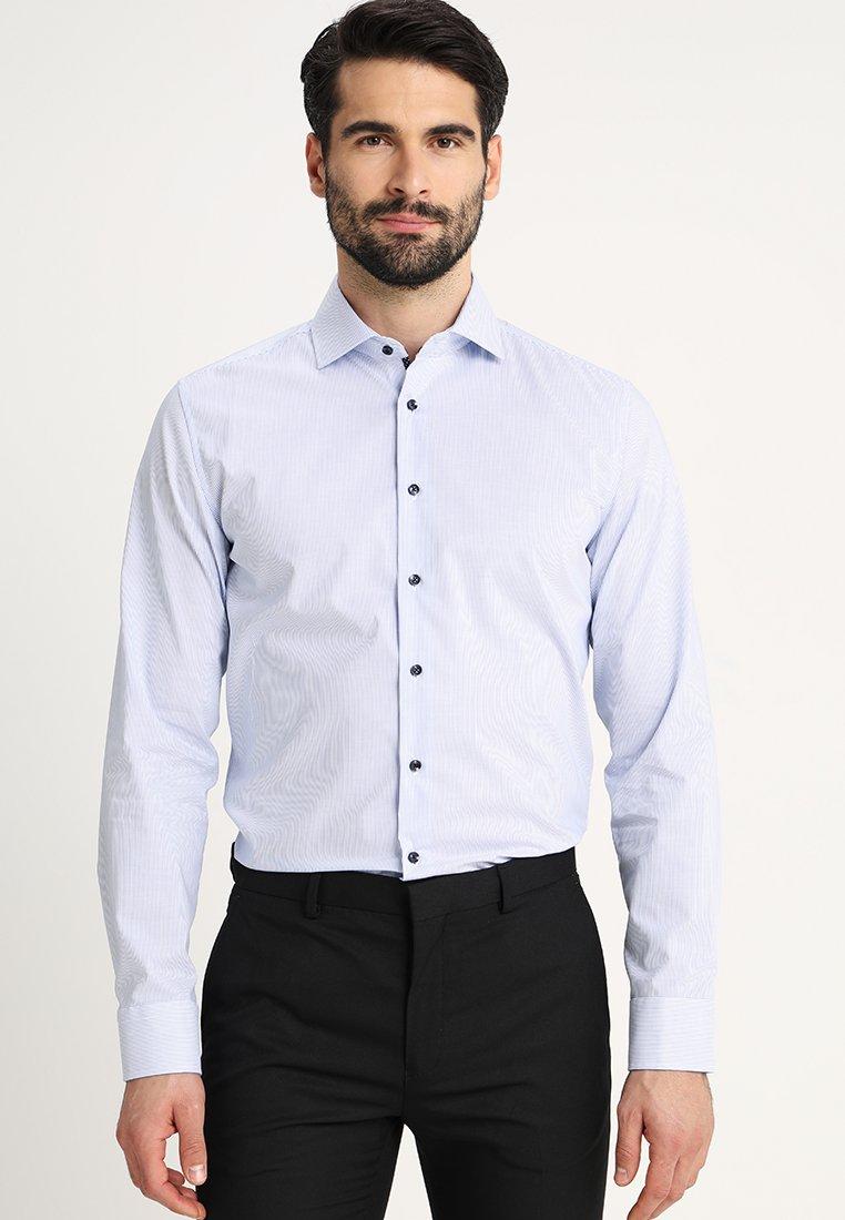 Seidensticker - SLIM FIT SPREAD PATCH - Zakelijk overhemd - blau