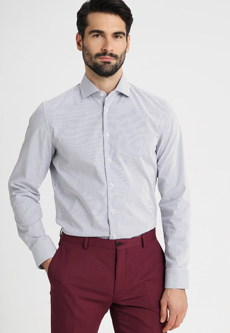Seidensticker - SLIM FIT SPREAD PATCH - Camicia elegante - navy