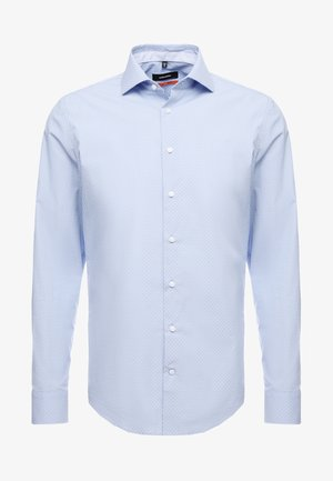 SLIM FIT PATCH - Kostymskjorta - light blue