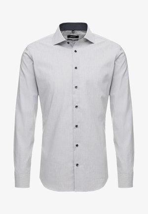 SLIM FIT SPREAD PATCH - Camicia elegante - navy