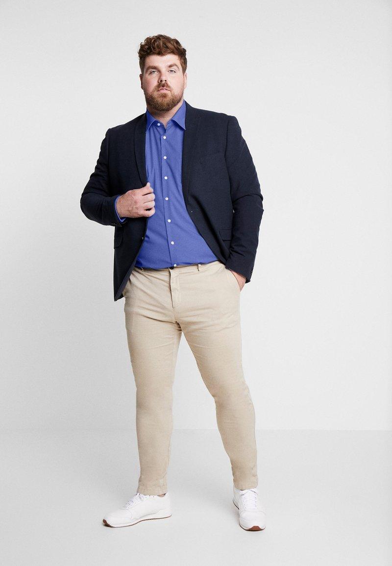 Seidensticker REGULAR FIT - Finskjorte - blue