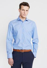 Seidensticker - SPREAD PATCH SLIM FIT - Finskjorte - blau - 0