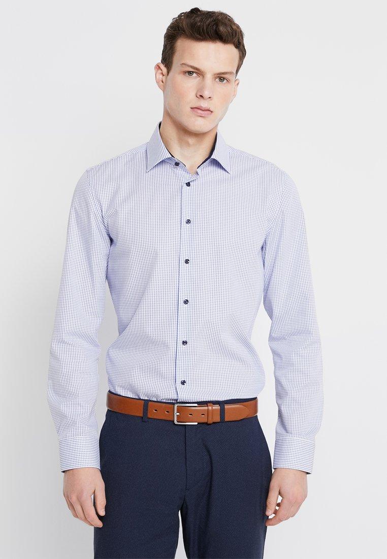 Seidensticker - SLIM BUSINESS KENT PATCH  - Shirt - blue