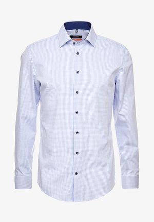 SLIM BUSINESS KENT PATCH  - Camisa - blue