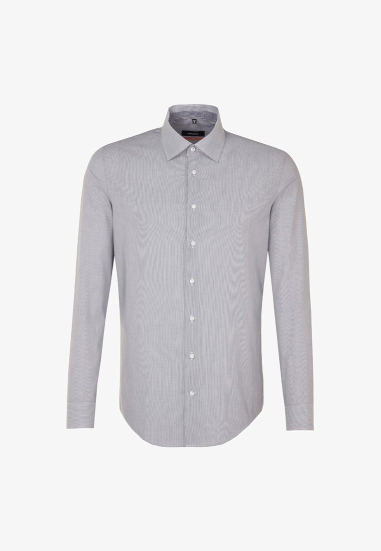 Seidensticker - SLIM FIT - Shirt - schwarz