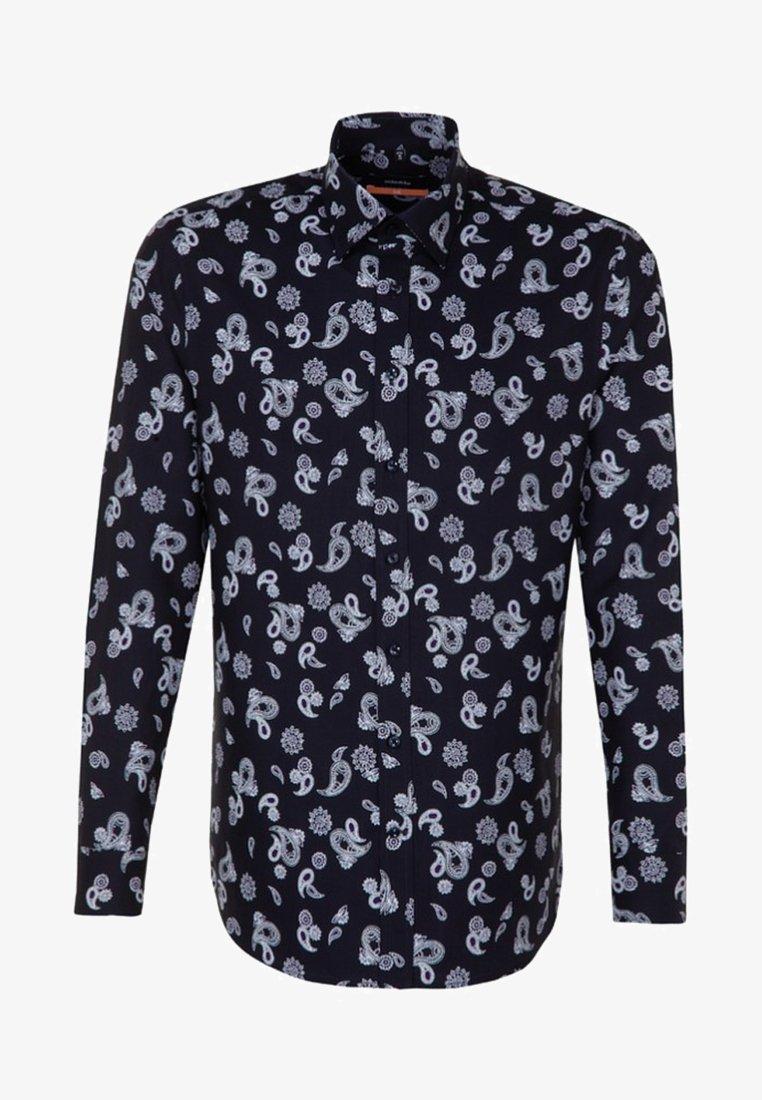 Seidensticker - SLIM FIT - Shirt - purple