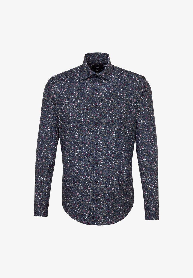 Seidensticker - SLIM FIT - Shirt - lila