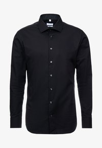 Seidensticker - BUSINESS KENT EXTRA SLIM FIT - Formal shirt - black - 4