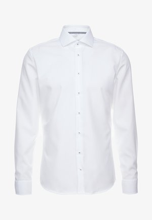 SLIM FIT SPREAD KENT PATCH - Business skjorter - white