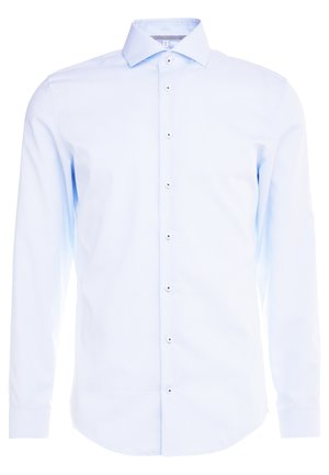 SLIM FIT SPREAD KENT PATCH - Zakelijk overhemd - light blue