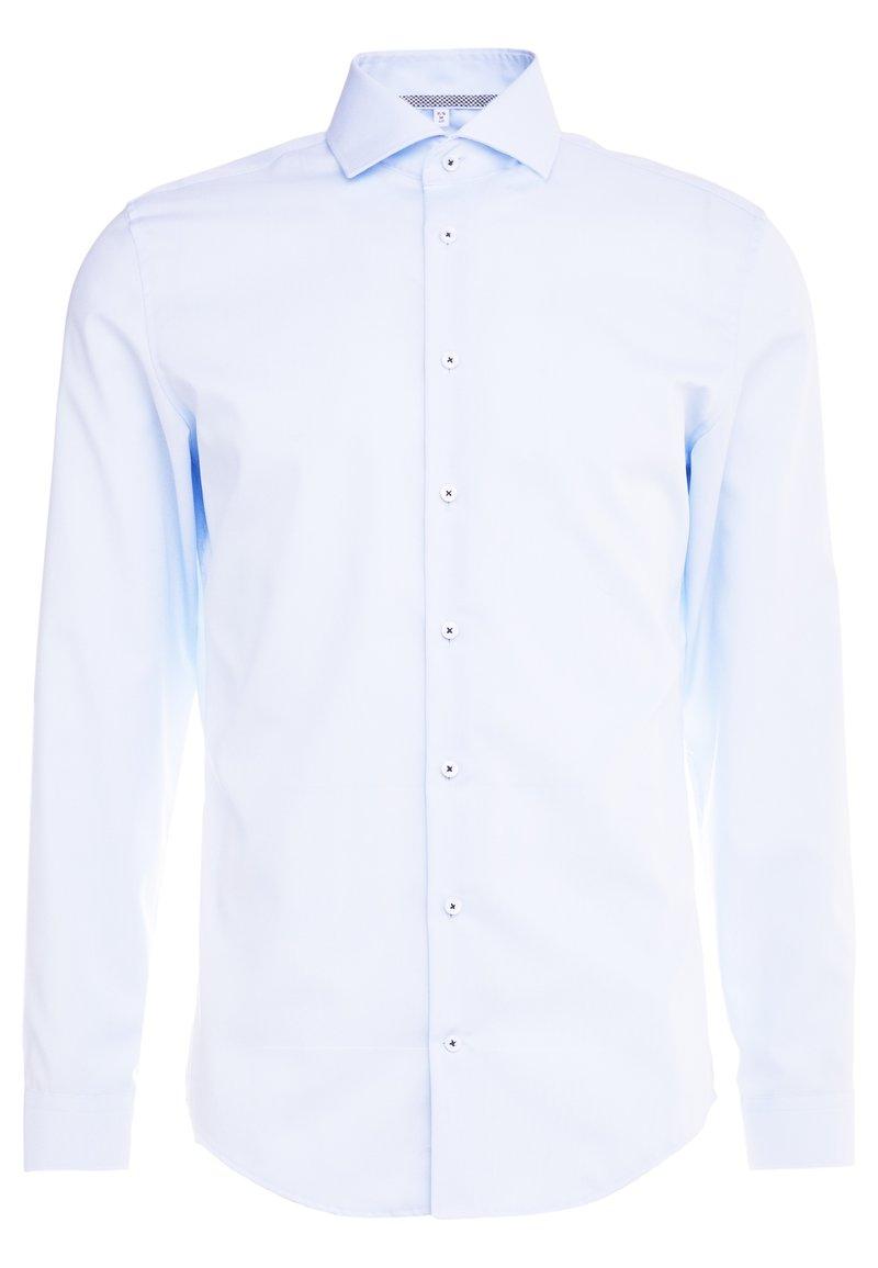 Seidensticker - SLIM FIT SPREAD KENT PATCH - Formal shirt - light blue
