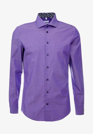 SLIM FIT SPREAD KENT PATCH - Business skjorter - lilac