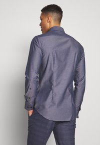 Seidensticker - SLIM FIT BUSINESS KENT - Formal shirt - dark blue - 2