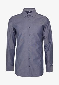 Seidensticker - SLIM FIT BUSINESS KENT - Formal shirt - dark blue - 4