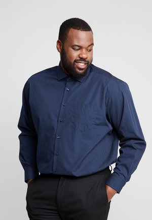 COMFORT FIT SPREAD PATCH - Formal shirt - dark blue