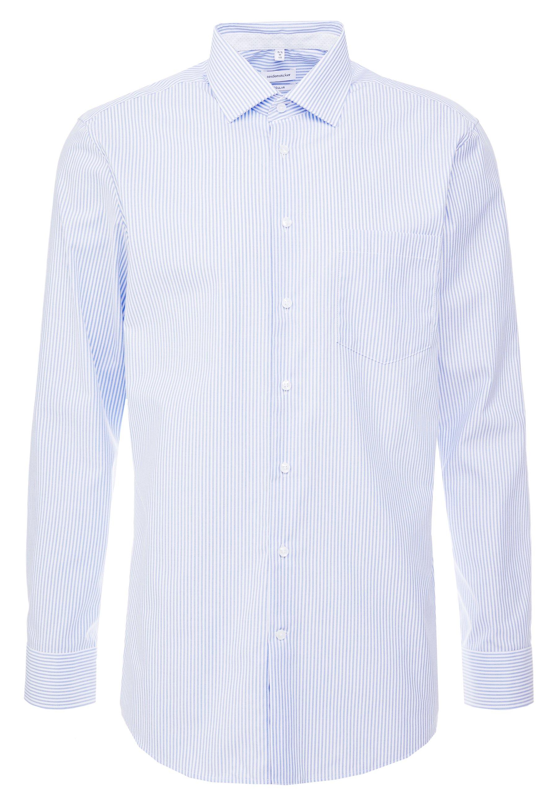 Seidensticker Regular Fit - Finskjorte Light Blue