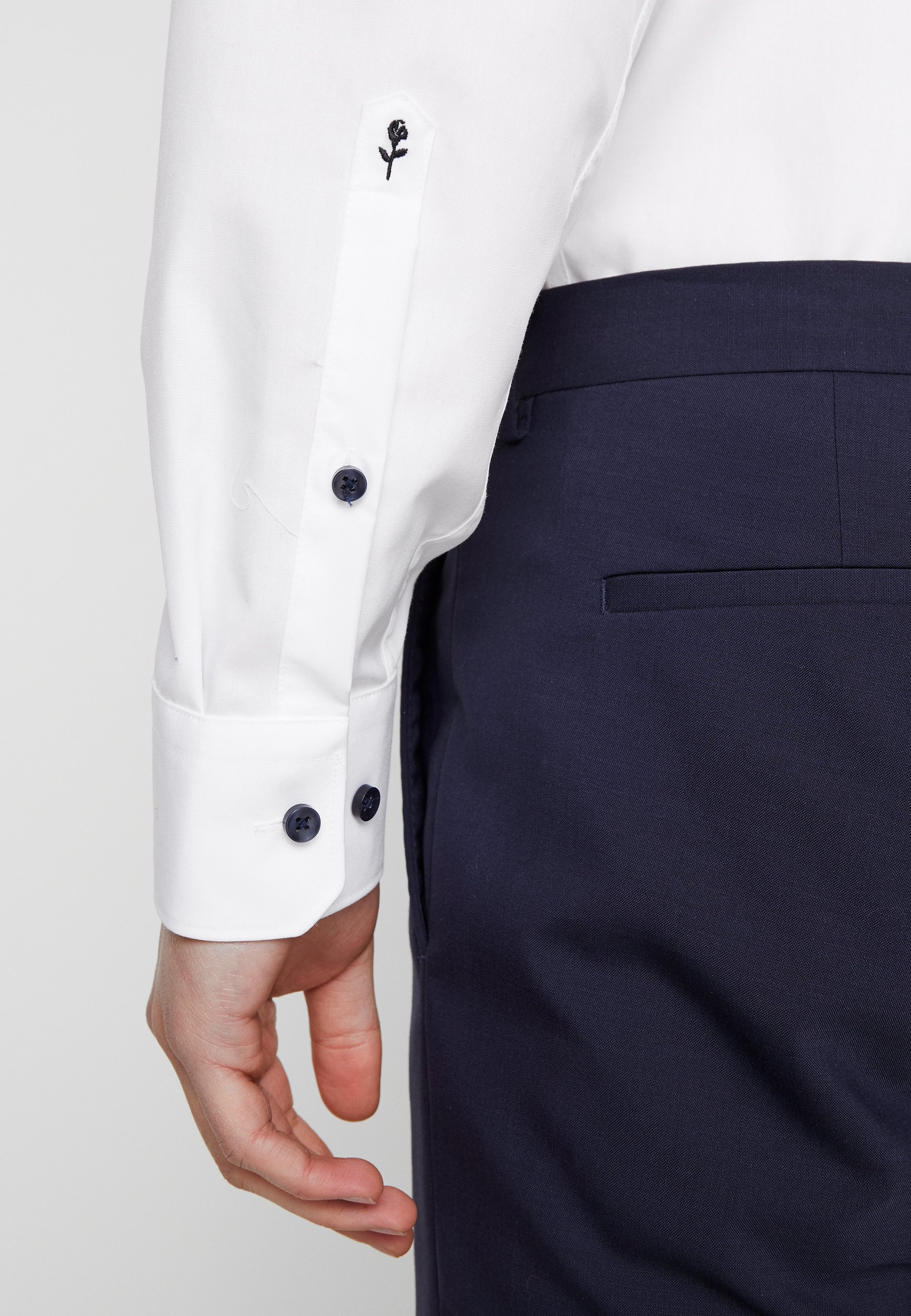 Seidensticker Regular Fit - Finskjorte White