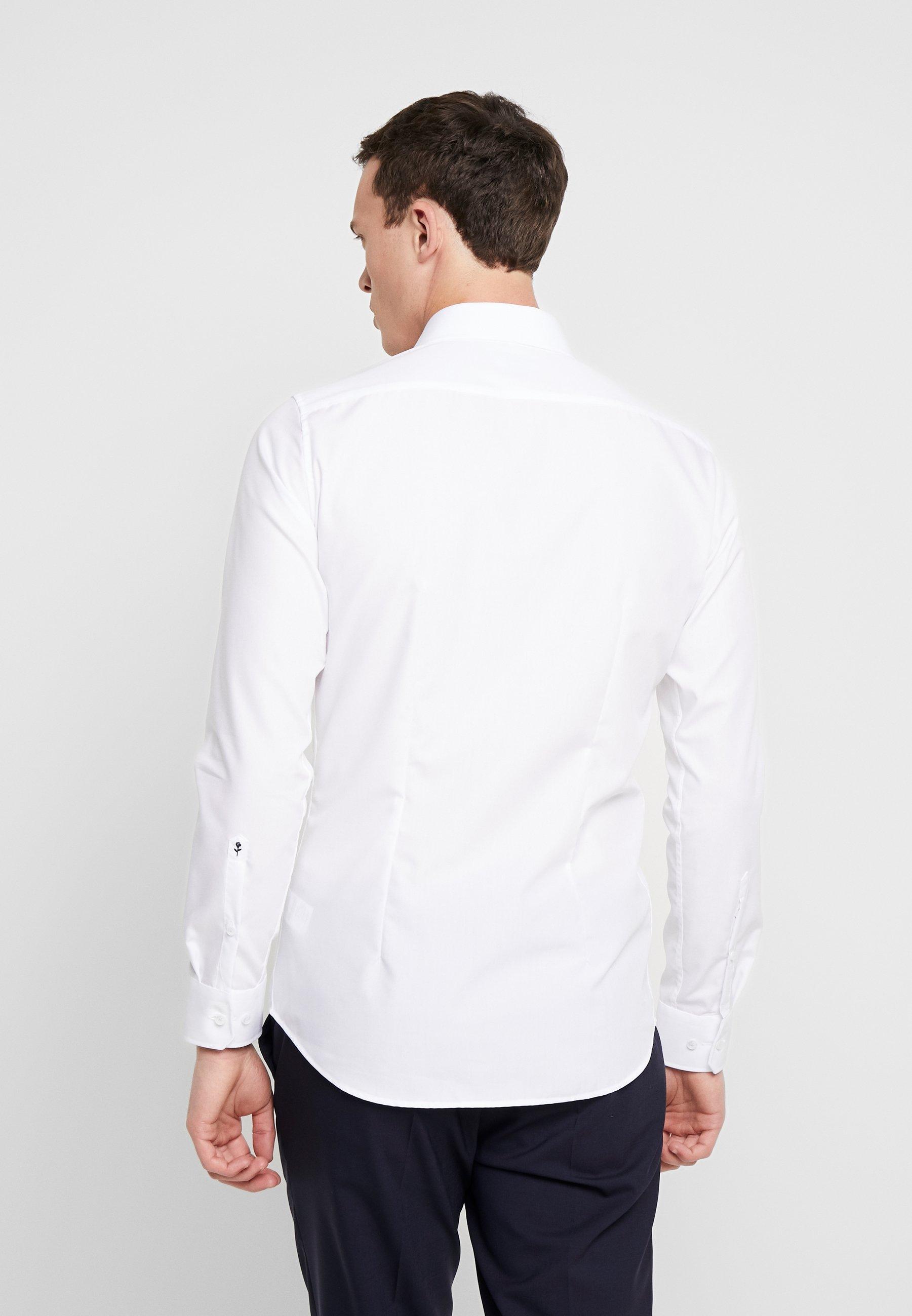 Seidensticker SLIM FIT BUSINESS KENT - Business skjorter - white - Herretøj til salg