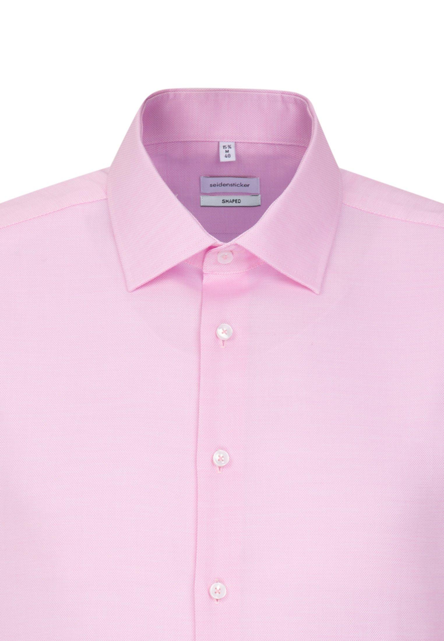 Seidensticker SLIM FIT - Koszula - pink