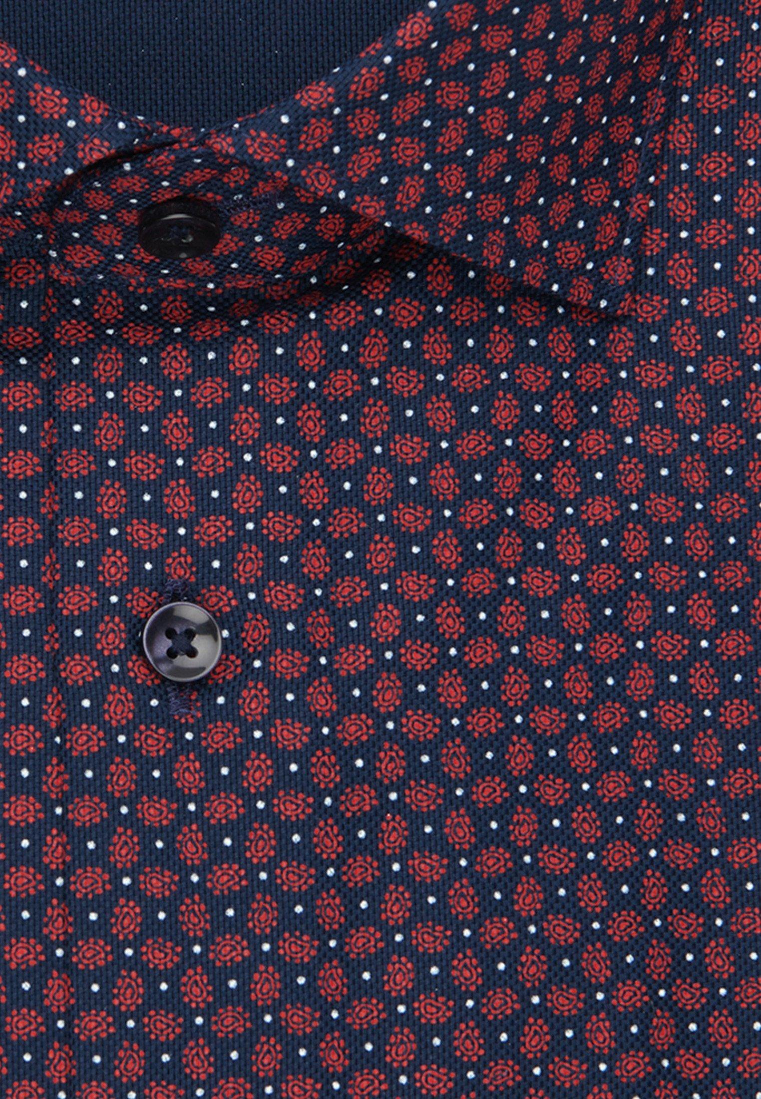 Seidensticker SLIM FIT - Koszula - red/blue