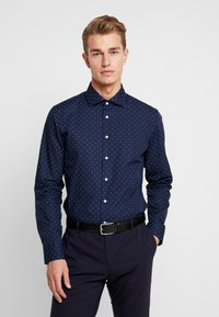 Seidensticker - SLIM FIT - Formal shirt - dark blue - 2