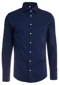 Seidensticker - SLIM FIT - Formal shirt - dark blue - 1