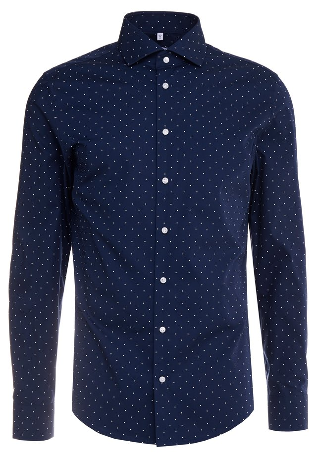 SLIM FIT - Finskjorte - dark blue