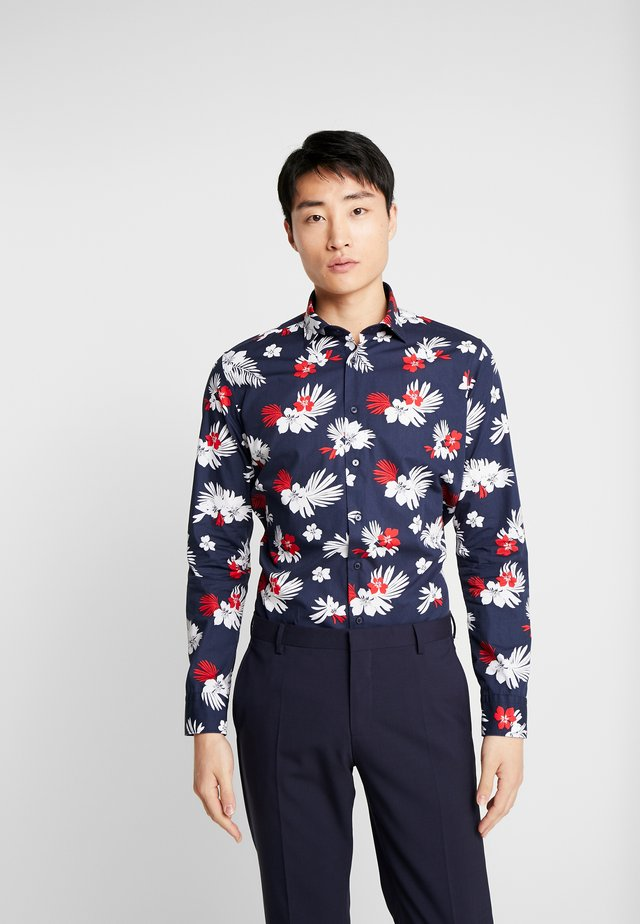 X SLIM LIGHT KENT - Skjorte - dark blue